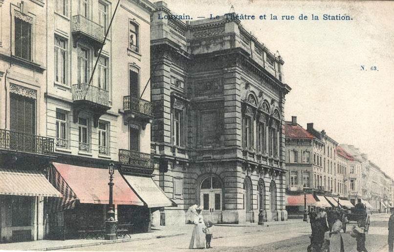 Stadsschouwburg te Leuven