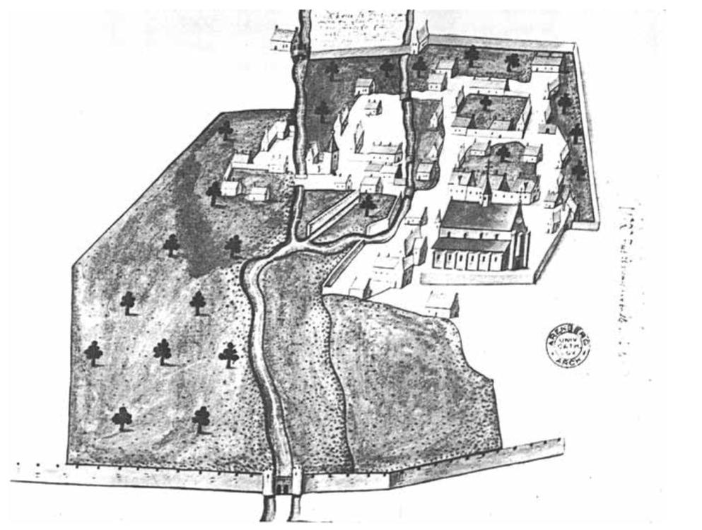 Ommuring van het Groot Begijnhof van Leuven