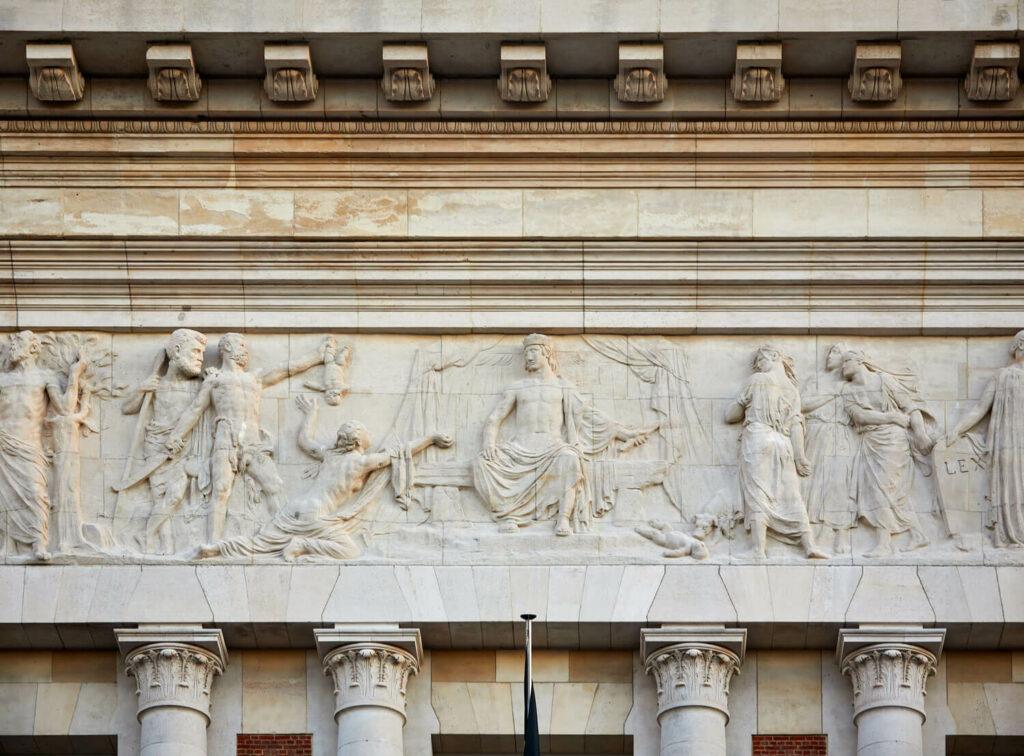 Gerechtshof Leuven buitenmuren