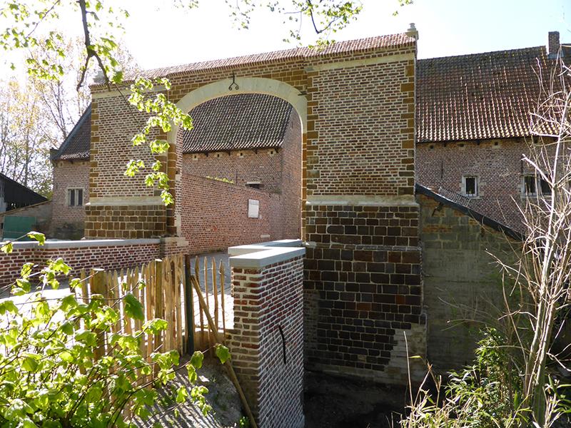 Inwijding van de Noorderpoort in de Abdij van Vlierbeek