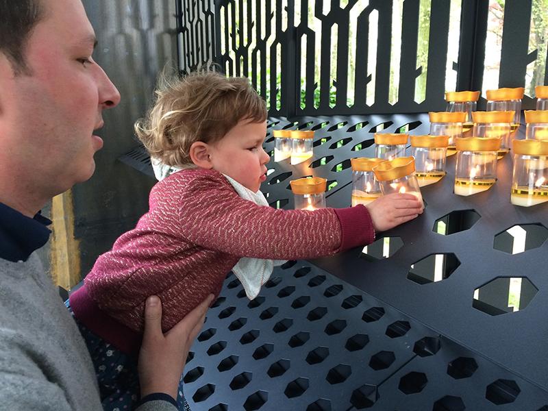 Nieuwe kaarsenkapellen in Scherpenheuvel vandaag geopend