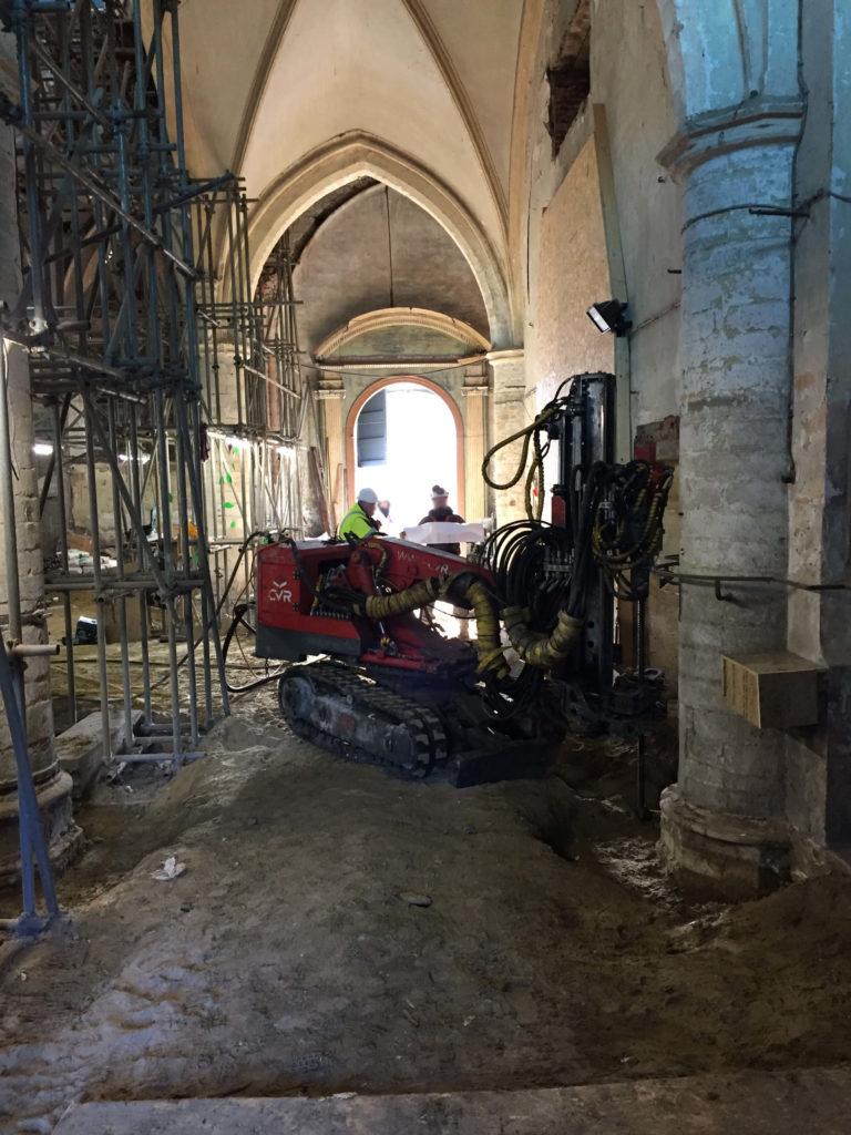 Start stabiliteitswerken Sint-Jacobskerk te Leuven