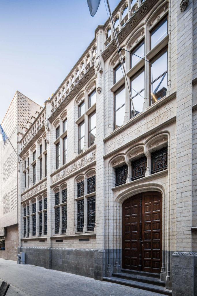 Cera hoofdkantoor genomineerd voor de architectuurprijs Leuven 2019