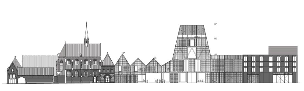 Nieuw project masterplan en bouw van podiumkunstenzaal in Leuven
