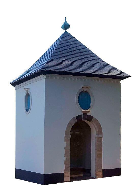 Inhuldiging van de kapel van de abdij van Vlierbeek