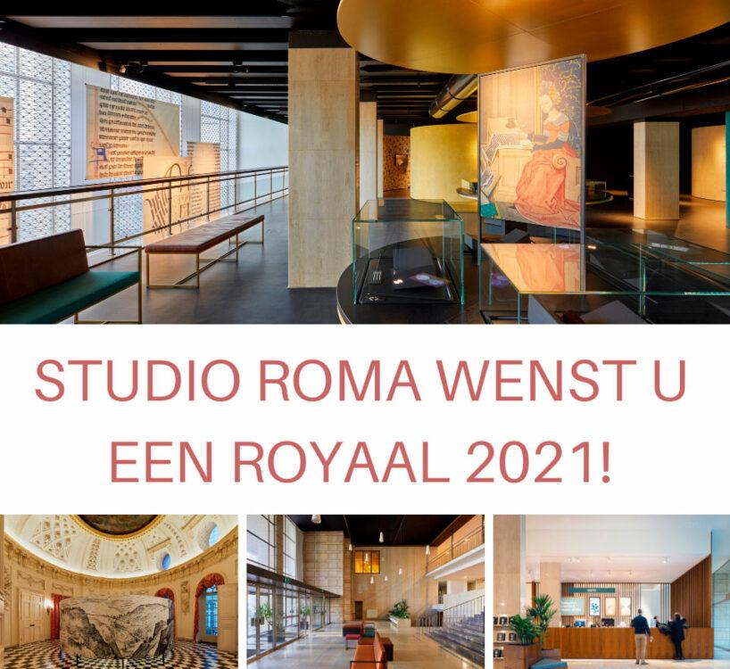 Studio Roma wenst u een royaal 2021!