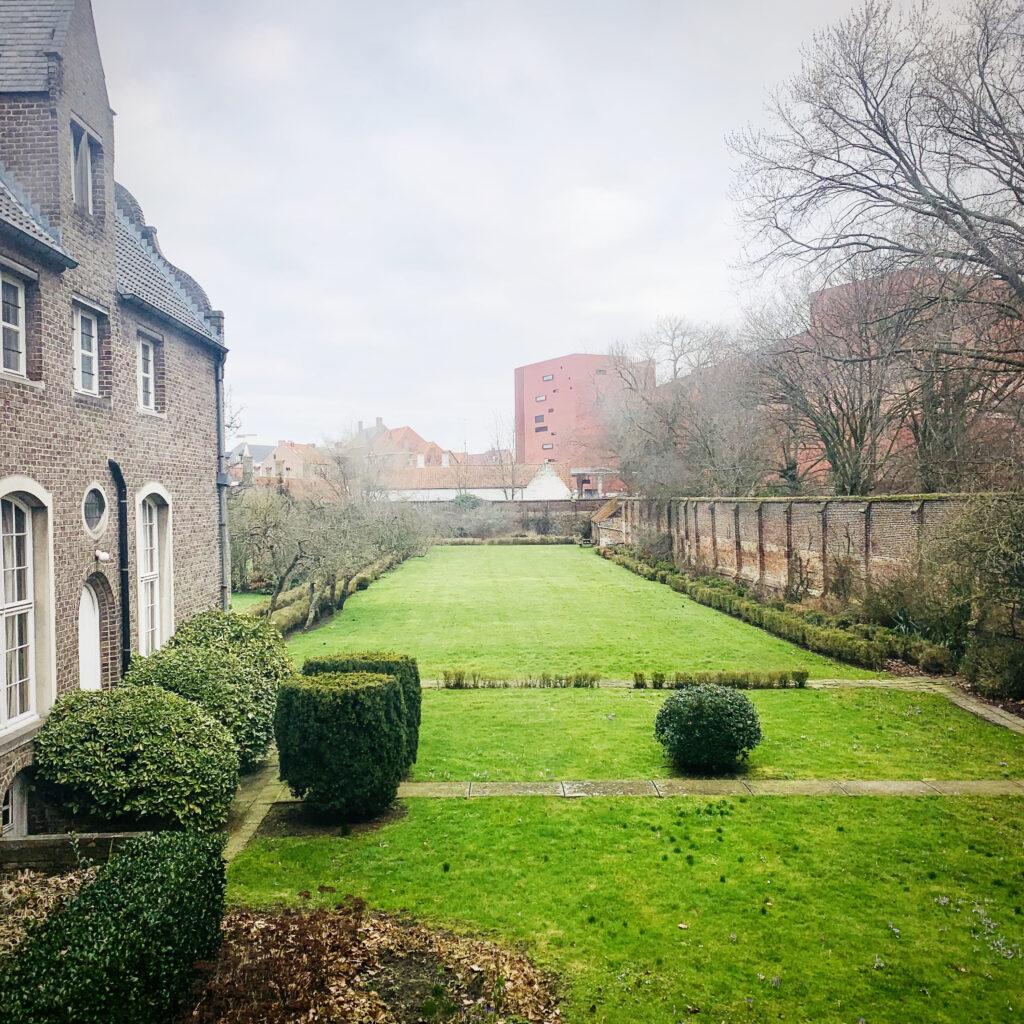 Bouwhistorisch en ontwerpend onderzoek van de Sint-Godelieveabdij in Brugge
